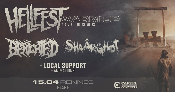 Hellfest Warm-Up Tour 2020 - Rennes x L'Étage