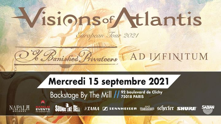 Visions of Atlantis à Paris (Backstage By The Mill)