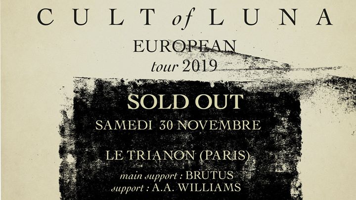 Cult Of Luna en concert @Paris (30.11.2019) - Le Trianon
