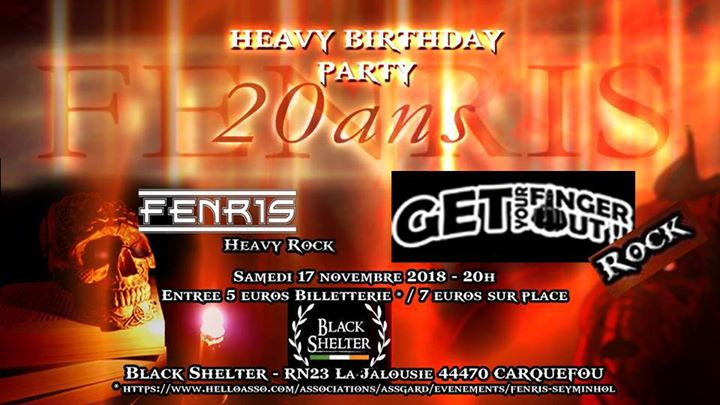 Heavy Birthday Party - Fenris & Get your Finger Out