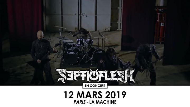 Septicflesh + Krisiun • Paris (La Machine)
