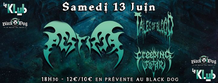 Report TBC : Pestifer, Tales of Blood & Creeping Fear ■ Le Klub