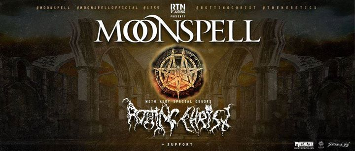 Moonspell, Rotting Christ // Rennes