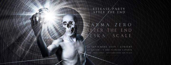 METAL. After the End_Release PARTY w/ Karma zero / Teska / Scale