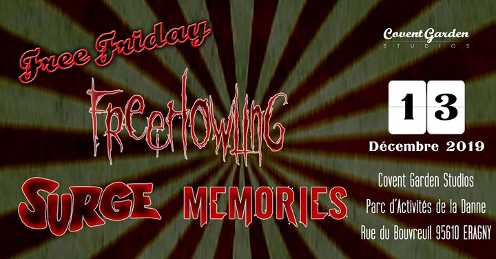 Free Friday : Free Howling - Surge - Memories