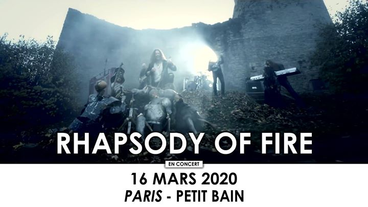 Rhapsody Of Fire • Paris • Petit Bain
