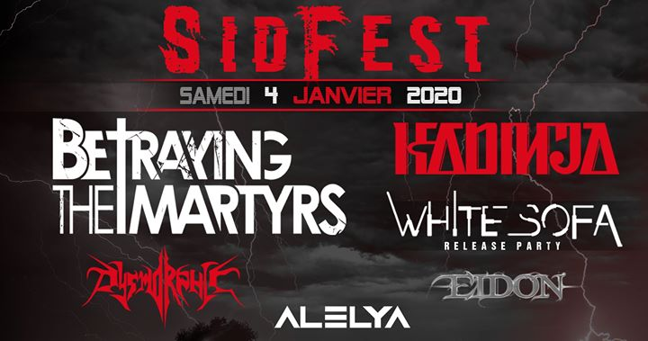 SID FEST 2020 // Rock Metal Festival ➢ TOURS