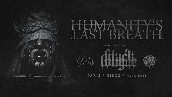 Humanity's Last Breath, Black Tongue, Cabal, COW // Paris