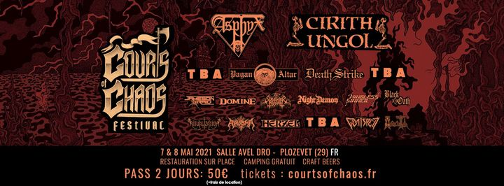 Courts Of Chaos Festival - (Reporté ! / postponed !)