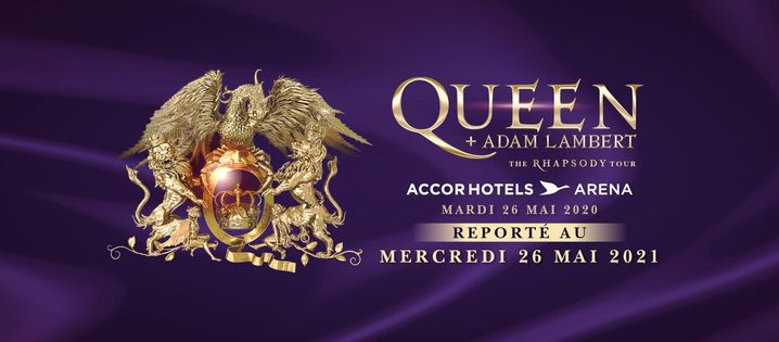 Queen + Adam Lambert · The Rhapsody Tour