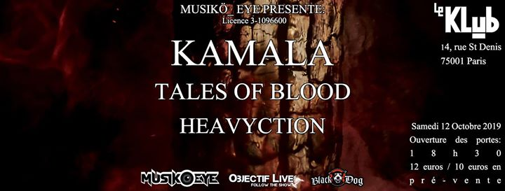 Kamala / Tales Of Blood / Heavyction