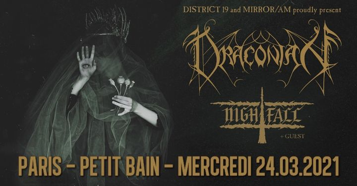 Draconian, Nightfall // Paris