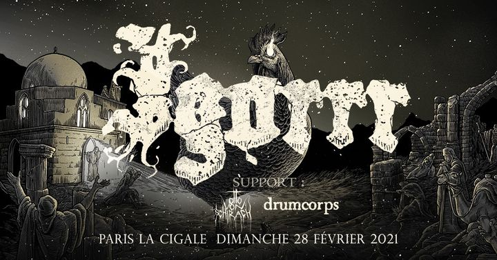 Igorrr + guests • Paris - La Cigale • 26 avril 2020