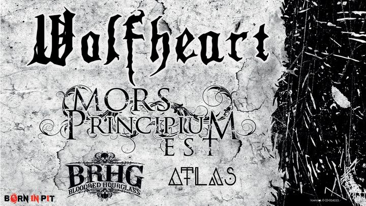 Wolfheart, Mors Principium Est, Bloodred Hourglass, Atlas