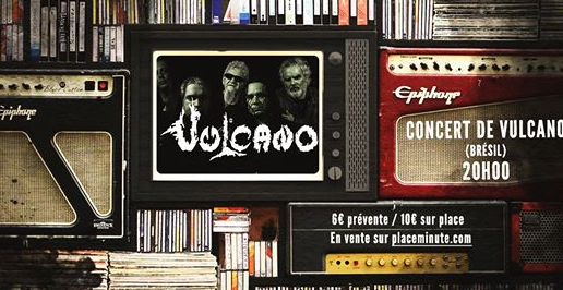 Brocante Metal & Geek + Vulcano & Guests