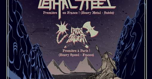 Vultures Vengeance//Lethal Steel//Iron Slaught ■ Glazart / Paris