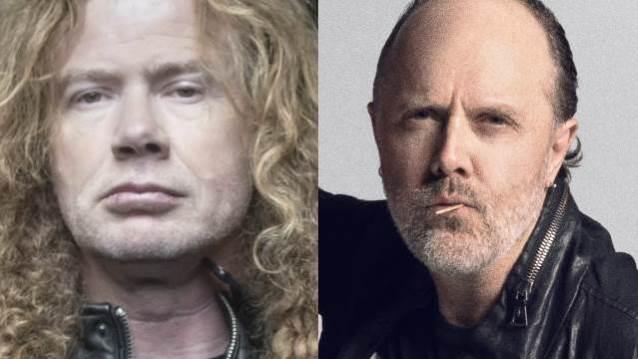 Dave Mustaine de MEGADETH dit qu'il n'a pas peur de Lars Ulrich de METALLICA